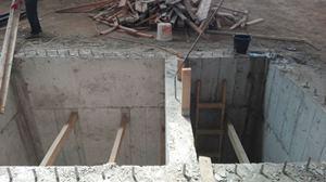 Tünel bacalarında kuyu temel kullanımı